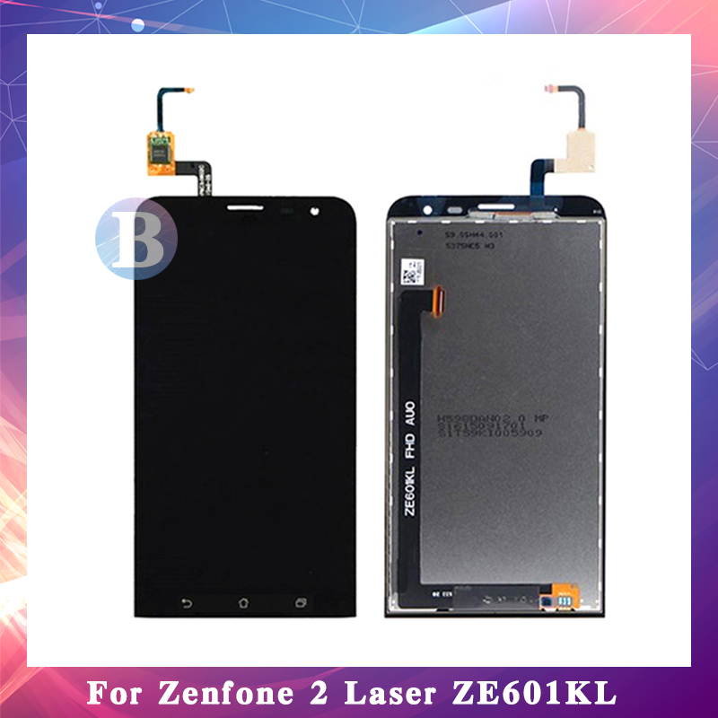 10Pcs/lot High Quality 6.0'' For ASUS Zenfone 2 Laser ZE601KL Z011D LCD Display Screen With Touch Screen Digitizer Assembly