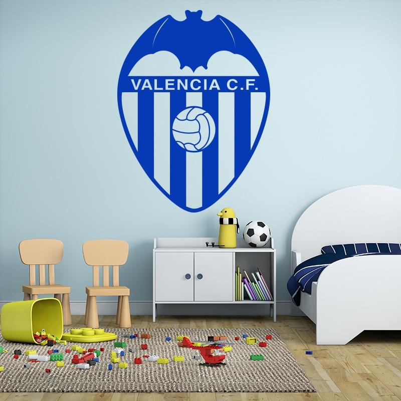 Art Design Spanisch Valencia CF Fußball Marken Wandaufkleber Vinyl ...