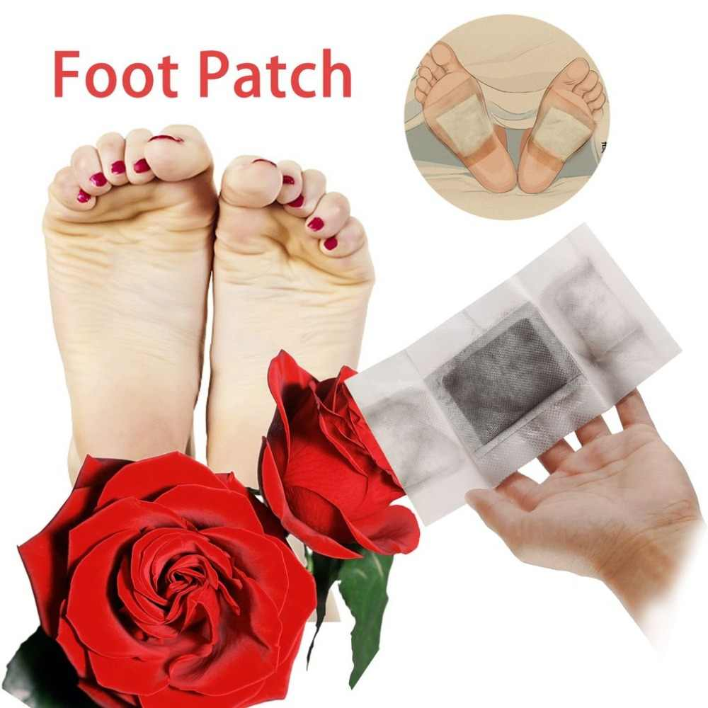 2018 coussinet de pied Acupoints Patch de pied adhésif Patch de soin des pieds relaxant et apaisant arôme soulagement de la douleur aide au sommeil profond