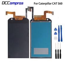 For Caterpillar CAT S60 LCD Display Touch Screen Digitizer Assembly For Caterpillar CAT S60 Screen LCD Display Phone Parts