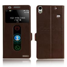Retro Genuine Leather Flip Stand Cover Cases For Lenovo S8 A7600 Luxury Smart Mobile Phone Case