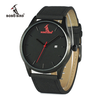BOBOBIRD G15 Retro Round Wrist Watch Mens Watches Top Brand Luxury Watches With Calendar Display Wood
