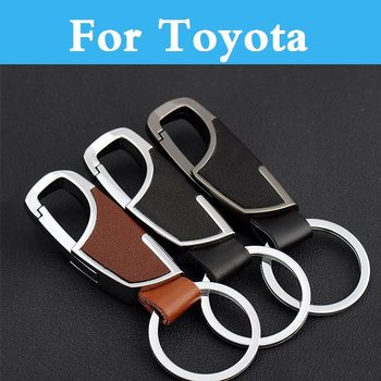 Car Styling Key Holder Remote Case Cover Key Chain For Toyota Avensis Aygo Belta Blade Brevis Caldina Cami Camry image