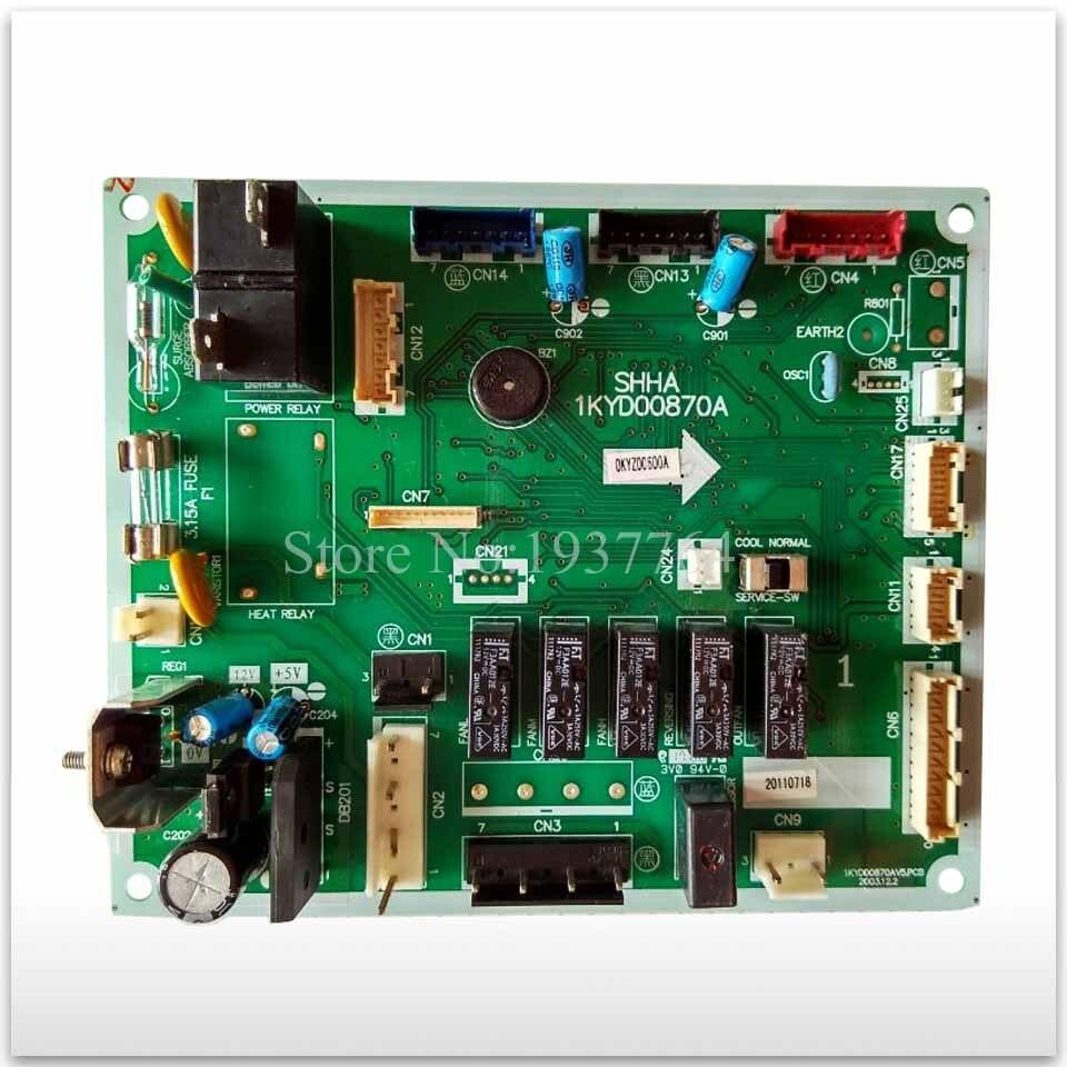 90% nuovo per Aria condizionata circuito bordo 1KYD00870A computer di bordo buon funzionamento90% nuovo per Aria condizionata circuito bordo 1KYD00870A computer di bordo buon funzionamento