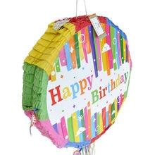 Бумажные складные сувениры pinata на тему счастливого дня рождения