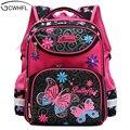 Рюкзак GCWHFL для девочек  школьная сумка с цветами для девочек