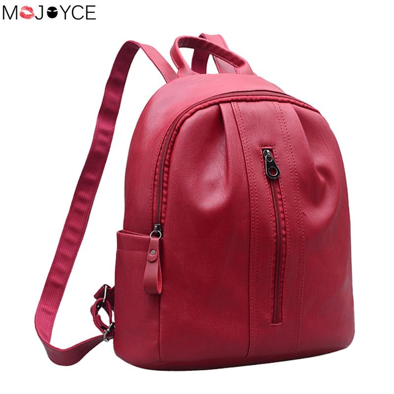 Fashion small women backpacks mochila small zipper pu leather student backpack preppy style backpack girls women's backpack рюкзаки zipit рюкзак shell backpacks