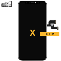 2pcs No Dead Pixel Black OEM Quality Touch Screen For iPhone X LCD Display Mobile Phone Pantalla Repair Replacement Spare Parts