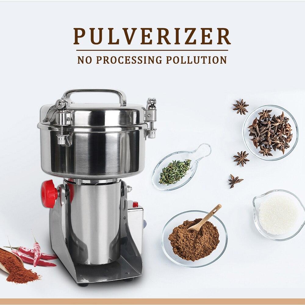 ITOP Multifunções de Alimentos Elétrico Moedor De Grãos 750g Capacidade Máquina Picadora Pulverizer Pulverizer Soja Moagem Automática