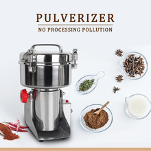 ITOP Multifunction Electric Food Grain Grinder 750g Capacity Pulverizer Machine  Chopper Soybean Automatic Milling Pulverizer