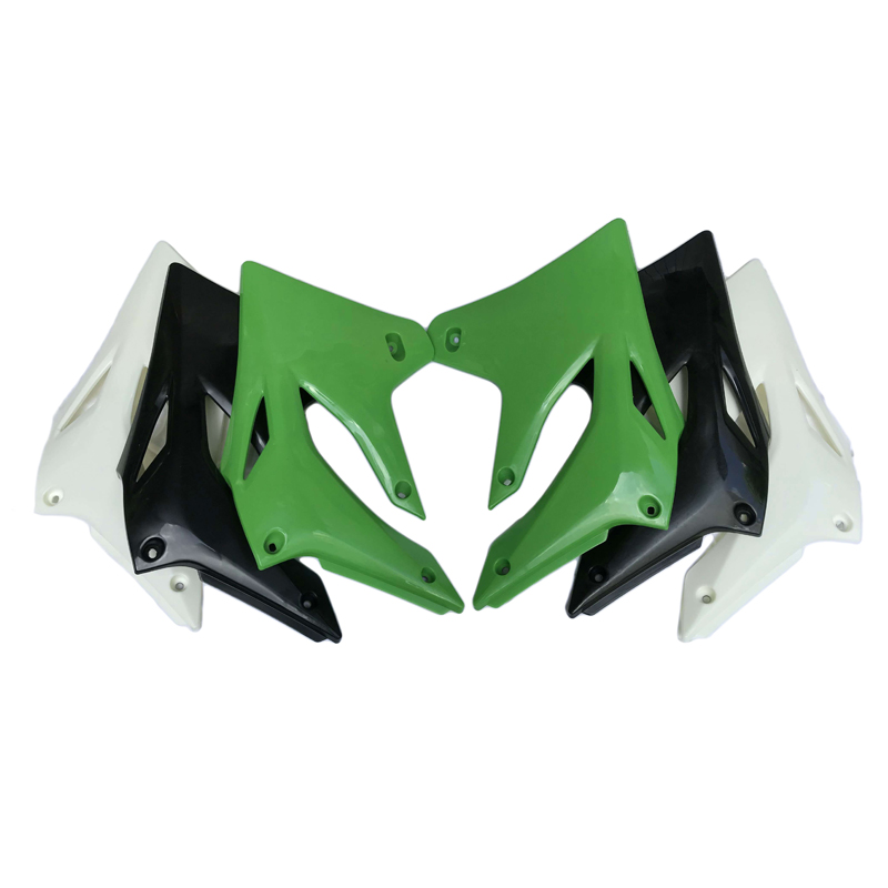 Alpha Rider Front Left /& Right Side Black Fairing Cowling Plastic Cover Radiator Shouds side For Kawasaki KLX250 KLX 250 2004 2005 2006 2007 Fuel Tank Side Plate
