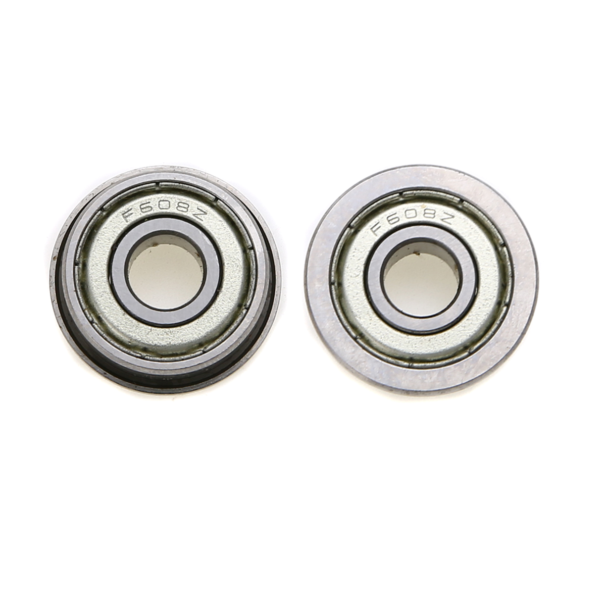 все цены на  10pcs/lot New Miniature F608ZZ Ball Bearing Mayitr Metric High Precision Metal Flanged Ball Bearings 8mm*22mm*7mm  онлайн