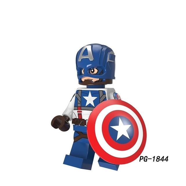 Legoing Super Heróis Homem De Ferro Batman Coringa Spiderman Hulk Capitão América Spiderman Modelo Kits de Construção de Brinquedo Para Crianças
