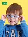 Gafas de bebé Tamaño 37mm No Tornillo De Seguridad Flexible con Correa, Fliexible Niños Óptica Marco y Lentes Planas, niños Gafas Cord