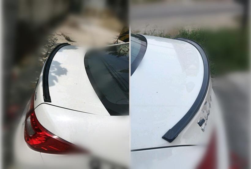 Voiture-style de voiture en caoutchouc queue Décoratif autocollants POUR chevrolet cruze skoda octavia 1 ford mondeo 3 renault laguna 2 jimny