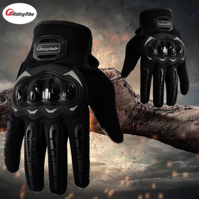 Luvas de motocicleta com toque sensível a tela, luvas de moto queiro guantes 5