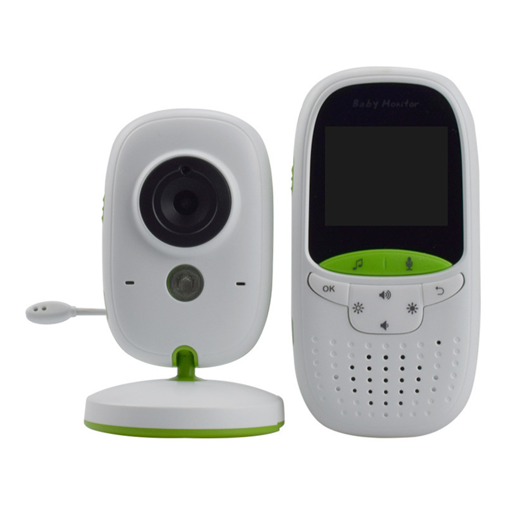 New VB602-1 Baby Monitor Home Wireless 2.0 Inch Night Vision HD 1080P Two-way Intercom Video Babysitter