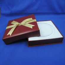 High Quality  Square Gift Box For Pearl Necklace & Necklace Jewelry Gift Boxes Packaging
