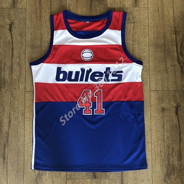 c03622b3b848 Wes Unseld Washington Throwback Basketball Jersey Men Size S ...