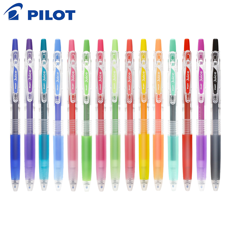 Pilot Juice Gel Pen 1Piece 0.38 Mm 24 Color LJU-10UF For School Office Writing Supplies Stationery  Gel Pens