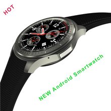 Wristwatch DM368 Android 5.1 MTK6580 Quad Core 1.3Ghz 8GB Bluetooth 4.0 Smart watch Support SIM 3G Wifi GPS Heart Rate Monitor