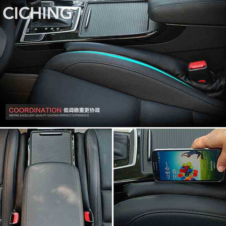 Auto Sticker Seat Gap Diafragma Pad Lekvrije Stopper Voor Peugeot 206 207 208 301 307 308 408 407 508 3008 4008 Auto Accessoires