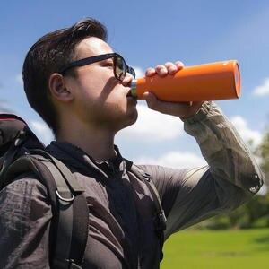Image 5 - Youpin KKF נייד תרמו כוס 475ML נסיעות ספל 24 שעות בקבוק מים נירוסטה חיצוני ספורט כוס ואקום