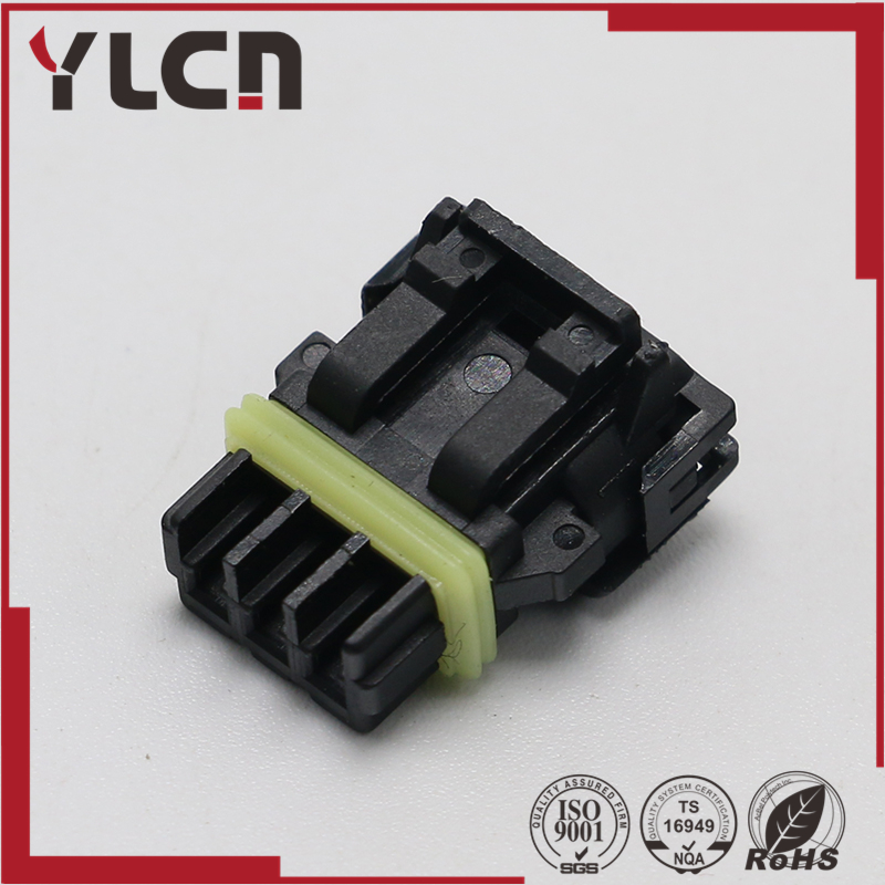 Free shipping 2pin auto plastic waterproof electrical connector for 52117 0241 without pins|2pin waterproof connector|connector electrical|connector waterproof - title=