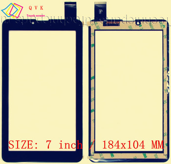 50Pcs 7inch for Domi X5 MTK6577 MTK6527 PHONE tablet pc touch screen digitizer glass touch panel XC-PG0700-025-A1 XC-PG0700-024