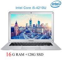 """ram 128g P7-09 16G RAM 128g SSD i5 4210U 14"""" Untral-דק מחשב שולחני מחשב נייד מחברת Gaming (1)"""