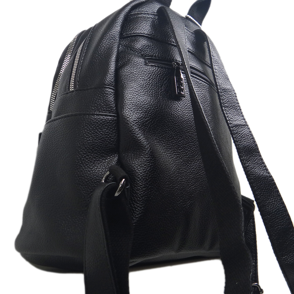 Qualität Schwarz Jugendliche Hohe Neue Mode Damen Für Tragbare Tasche Pu Weibliche Rucksack Freies Verschiffen n1PqEZYBZ