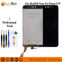 LCD For Xiaomi Redmi Note 5A 3GB Display Touch Screen Digitizer Assembly Replacement xiaomi 5a prime/pro Y1 lite
