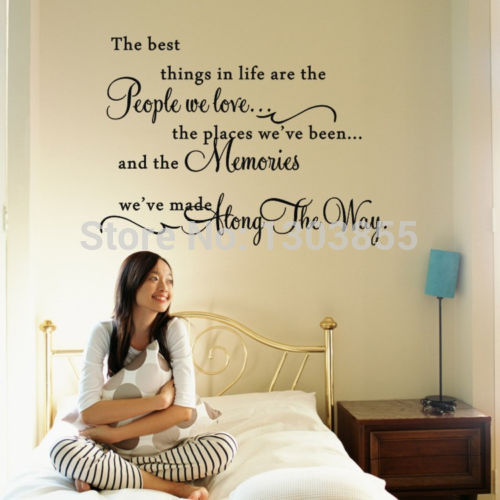 Wall Decor Sayings online get cheap life quotes sayings -aliexpress | alibaba group