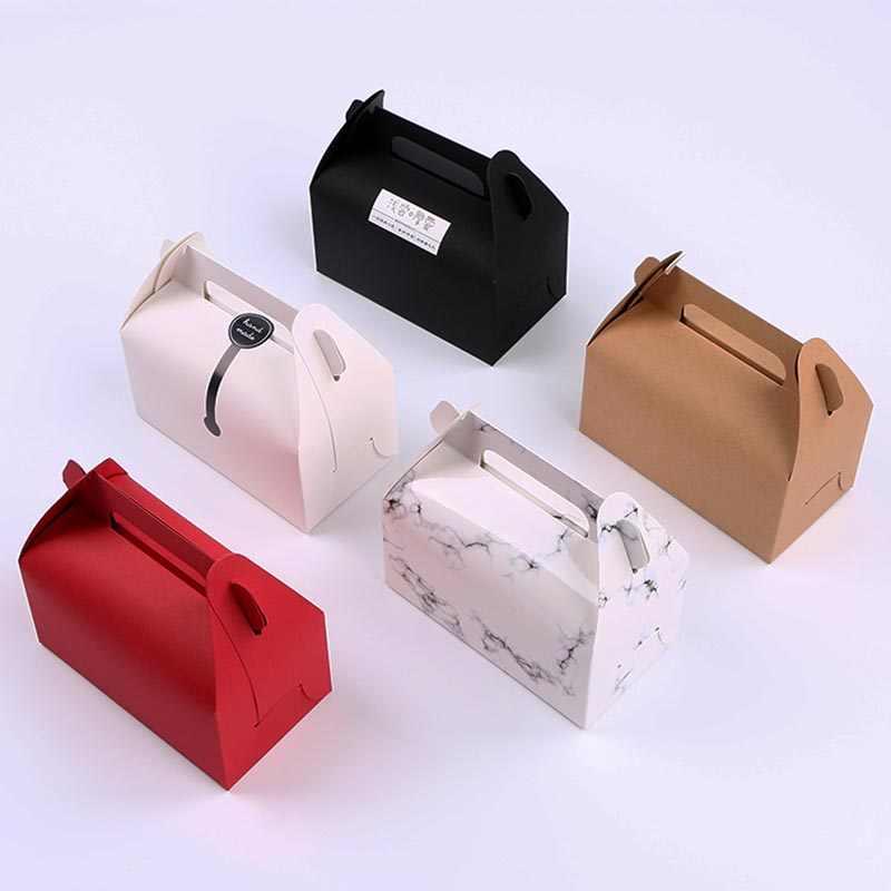 5pcs/lot Cake roll box cupcake pudding cup Kraft Paper Aircraft Gift Boxes Handmade Soap Packing Box Jewelry Cake Handicraft