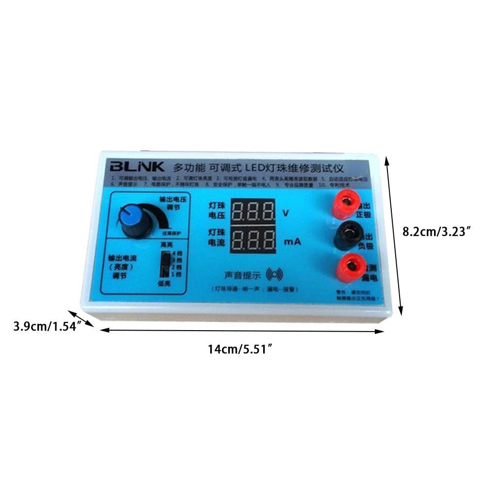 Backlight Luz Tester LCD Placa Do Grânulo Da Lâmpada