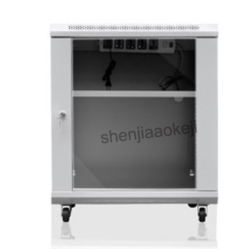 Vertical Cabinet 12U Thickened high quality cold rolled steel Cabinet Network Cabinet wall-mounted exchange Cabinet 0.6m