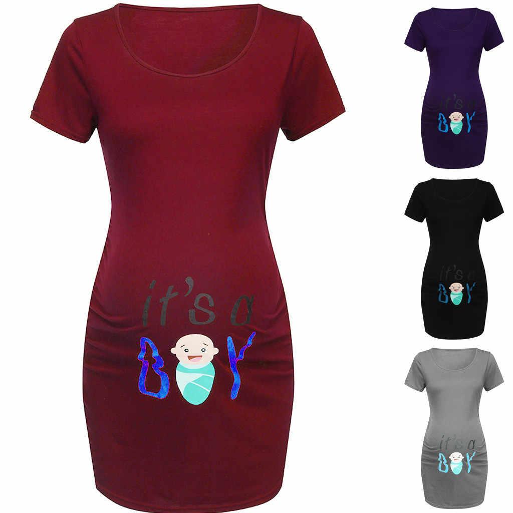 ARLONEET maternity t เสื้อตลกพยาบาลการพิมพ์เสื้อผ้าสำหรับหญิงตั้งครรภ์ 2019 เสื้อผ้าสตรีการตั้งครรภ์เสื้อยืด