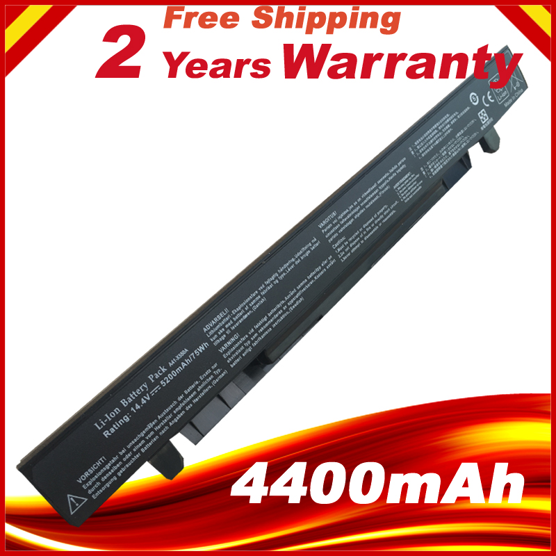 8 Cells 4400mAh Battery For Asus K550V K550L K550C K450V K450L K450C F552V F552C F550V F550L F450V F450L A550V A550L A550C A450V