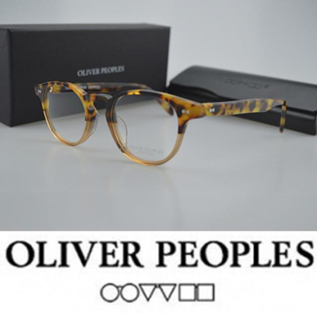 New emerson oliver peoples rodada do vintage óculos mulheres quadro ov5064 j opitcal prescrição óculos frames moda eyewear
