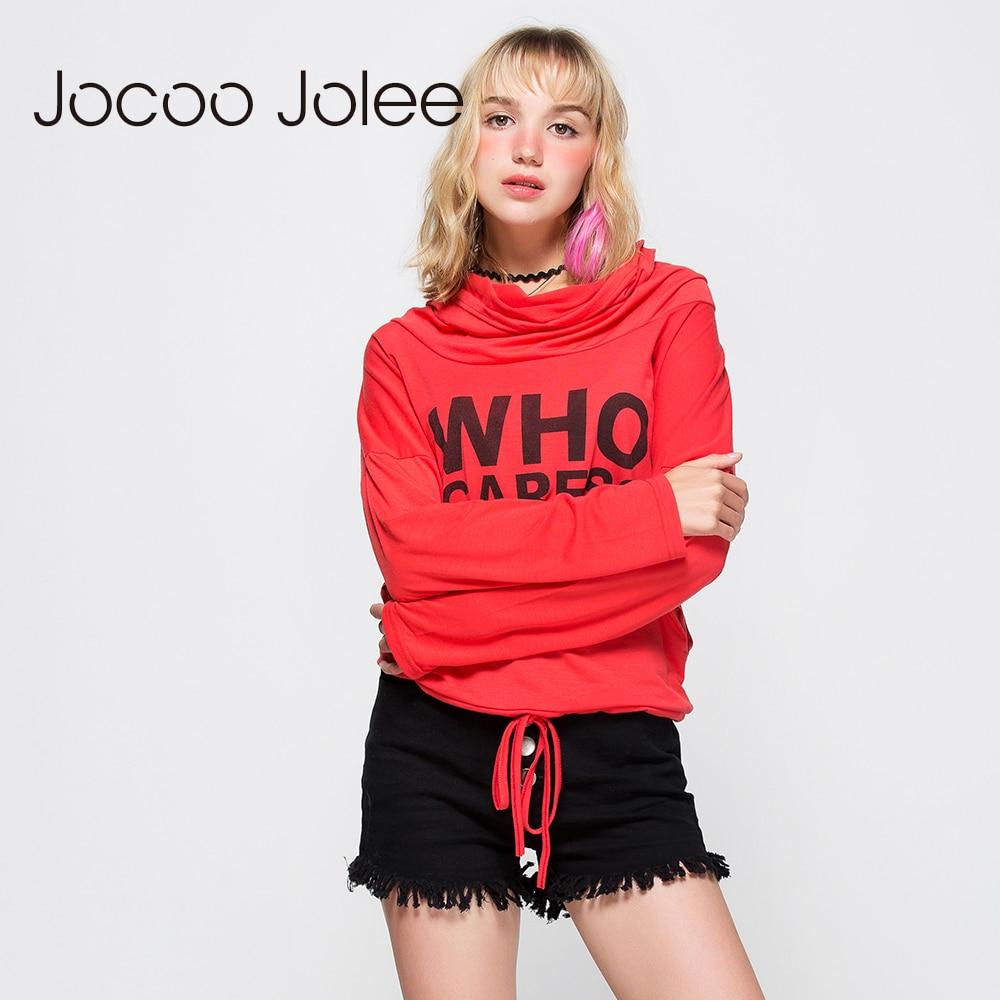 Jocco Jolee Dresy damskie z nadrukiem z długim rękawem Swetry z - Ubrania Damskie - Zdjęcie 2