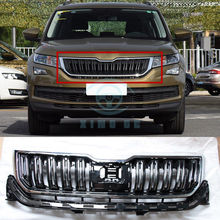 Front Bumper Middle Grille High Configuration Grille Refit For Skoda Kodiaq ACC