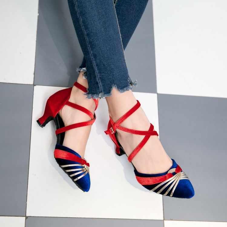 גדול גודל 11 12 13 14 15 16 17 עקבים גבוהים סנדלי נשים נעלי אישה קיץ גבירותיי בינוניים ב צבע התאמה