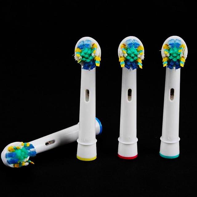 2016 Venta Caliente 20 unids Reemplazo cepillo de Dientes Eléctrico Jefes Compatible Con Oral B De Limpieza Dental