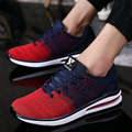 2017 Air Mesh Fashion Breathable Men Casual Shoes Basket Sport Walking Shoes Flats Mens Trainers Zapatillas Deportivas Hombre