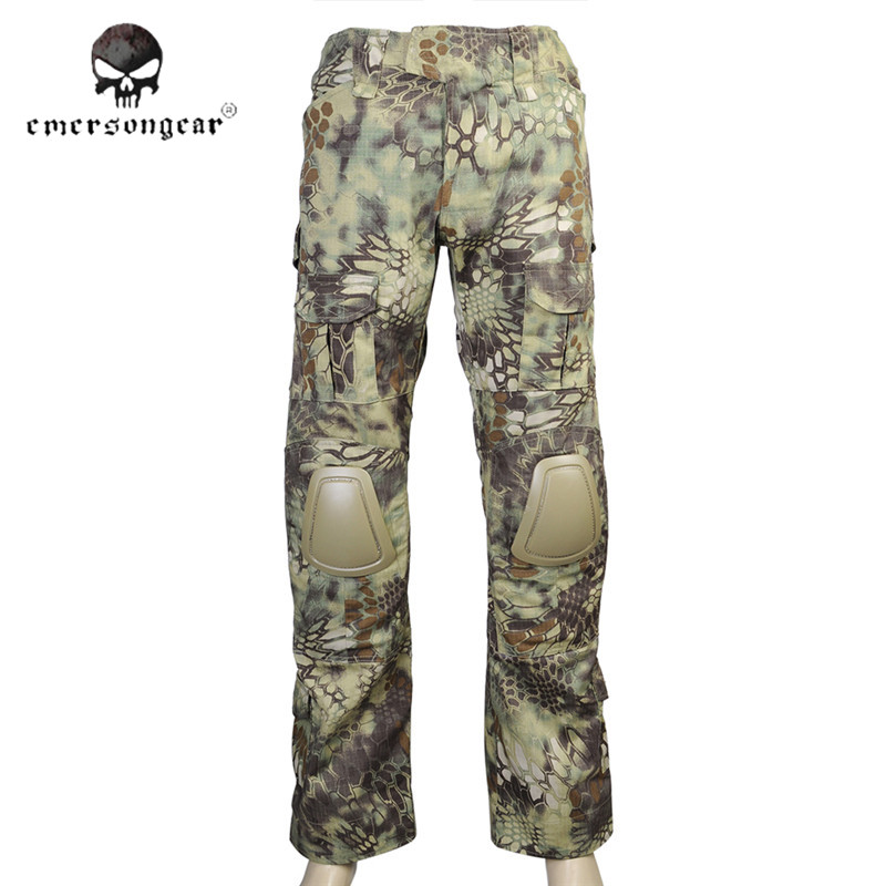 ФОТО Emersongear Long Pants Military Outdoor Trousers Shooting Wargame Clothing Tactical Emerson Airsoft Hunting Battle Gear