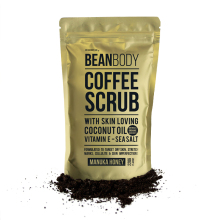 Hotselling BeanBody Manuka Honey Coffee Scrub Coconut Oil Remove dead skin Body Treatment for Rough skin