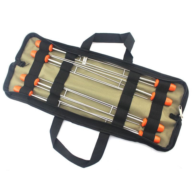 High quality 304 stainless steel barbecue utensils baked needle