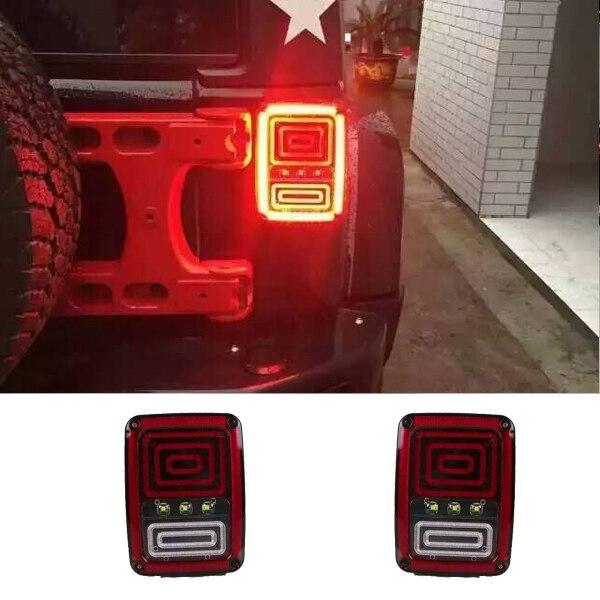 com buy for jeep wrangler jk 2007 2016 led reverse brake tail lights. Black Bedroom Furniture Sets. Home Design Ideas