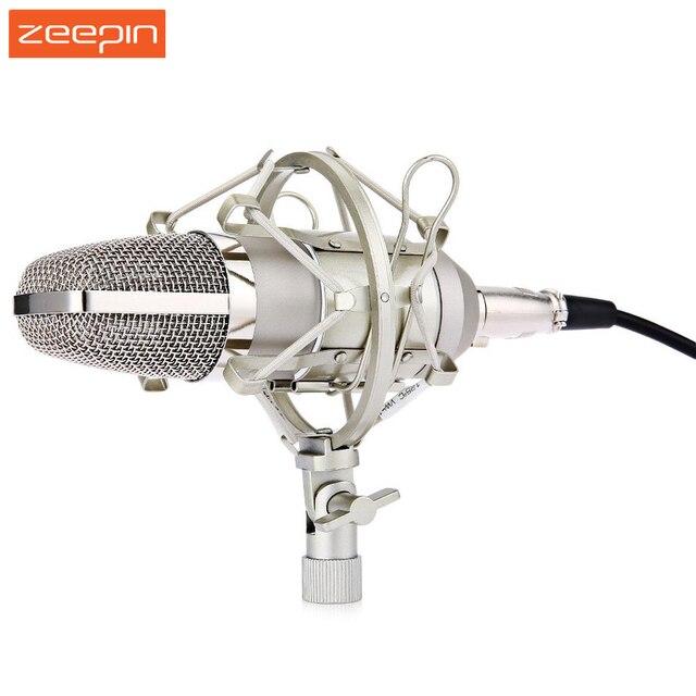 Zeepin BM-700 6 Kleuren Professionele Uni-directionele Condensator Studio Geluidsopname MicrophoneShock Mount Anti-wind Schuim Cap