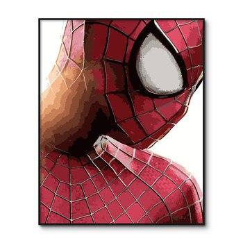 Peter Parker Poster Boya Sayi Kitleri Tarafindan Orumcek Adam